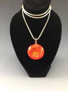 Flame Red Pendant